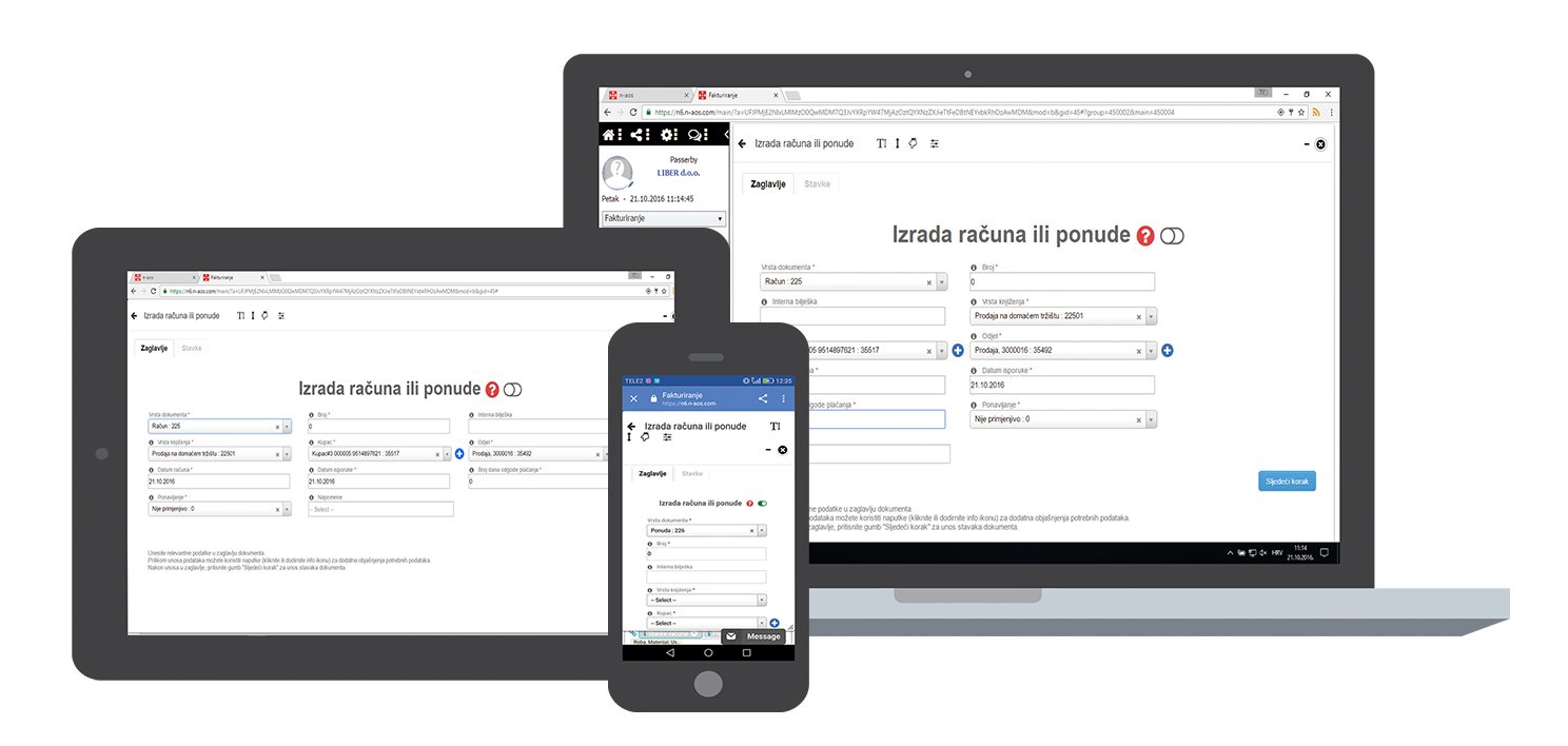n aos cloud online invoicing and billing invoices goods and
