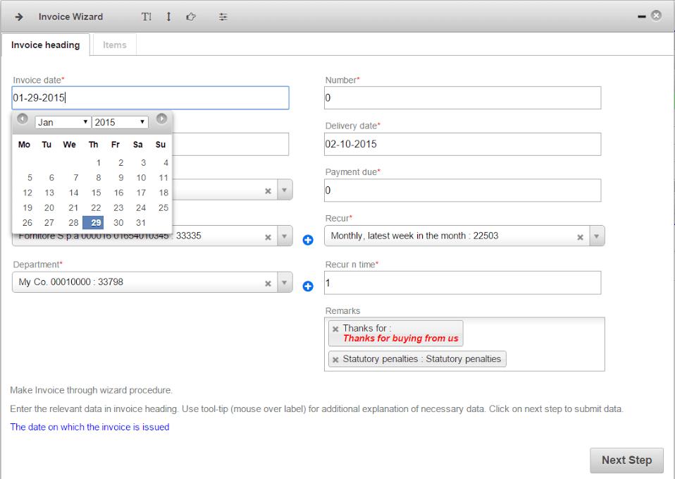 How To Make An Invoice Naos Cloud - Make an invoice app